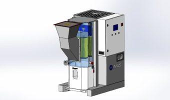 High pression dust collectors DAP series